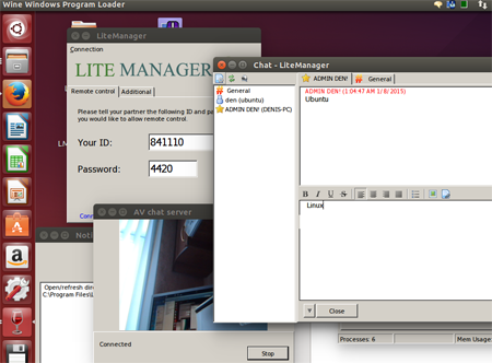 LiteManager server на Linux Ubuntu